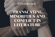 Congres Translating Minorities and Conlict in Literature